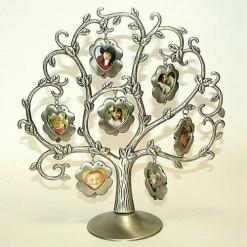 Дерево с фоторамками *Цветы*