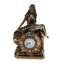 """Настольные часы """"Богиня счастья и удачи"""""""