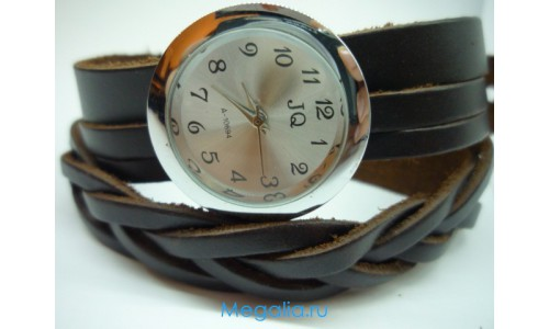 Часы Плетёнка № 15