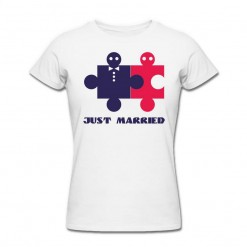 Футболка *Just Married* женская
