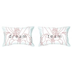 Комплект прикольных наволочек Dream Team