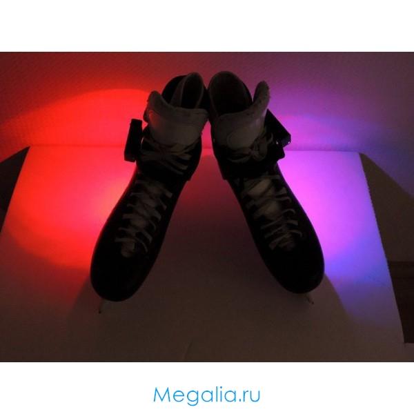 Подсветка на коньки многоцветная