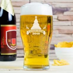 """Бокал для пива """"Новогодний 2019"""""""