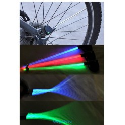 Велосипедная подсветка на спицы колес