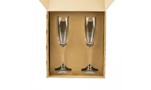 """Набор фужеров для шампанского """"С Новым Годом"""""""