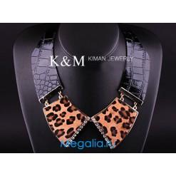 """Ожерелье """"Леопардовый воротничок"""""""