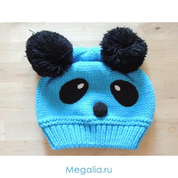 Детская шапка Панда