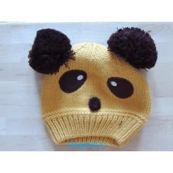 Детская шапка «Панда»