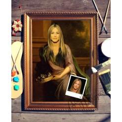 Портрет по фото *Портрет женщины*