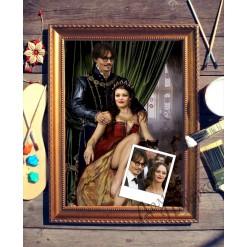 Парный портрет по фото *Молодая пара*