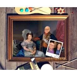 Парный портрет по фото *Муж и жена*