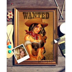 Портрет по фото *Wanted*