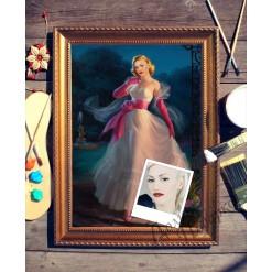 Портрет по фото *Золушка*