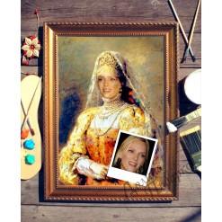 Портрет по фото *Боярыня*