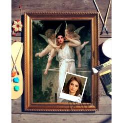 Портрет по фото *Ангелочки*