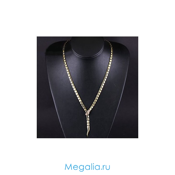 Ожерелье «Змейка золотая»