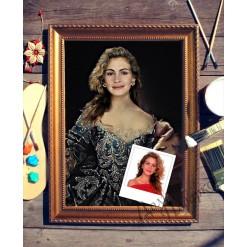 Портрет по фото *Княгиня Екатерина*