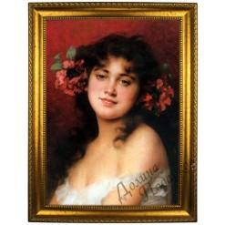 Портрет по фото *Молодая красавица*
