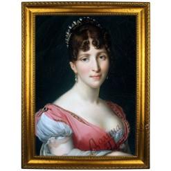 Портрет по фото *Гортензия де Богарне*