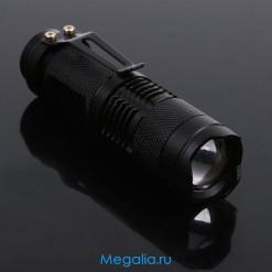 Светодиодный фонарь с фокусом (300 лм)