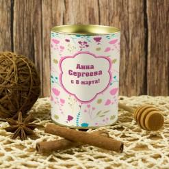 Подарочный мед «С 8 марта!»