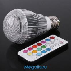 Светодиодная лампа 9 Вт B 22