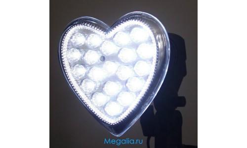Светодиодная лампа Сердце