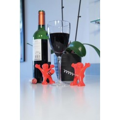 Набор для вина *Веселые человечки*