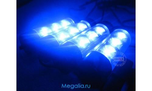 Подсветка салона авто (4 планки) неоновая