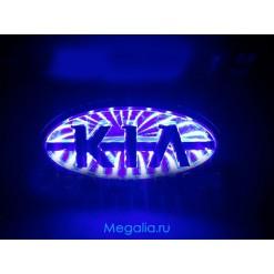 3D Светящийся значок KIA