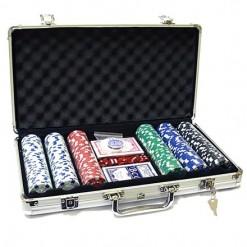 Набор для покера в кейсе на 400 фишек