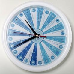 Новогодние часы *Распорядок дня*
