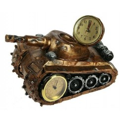 """Часы-термометр """"Танк"""""""