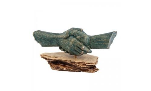 """Скульптурная группа """"Рукопожатие"""""""