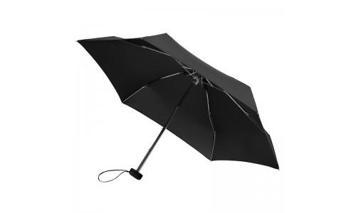"""Складной зонт """"Протект """" черный"""