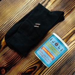 Носки в банке «Держи ноги в тепле»