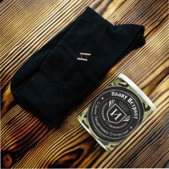 Носки в банке «Защитнику Отечества»