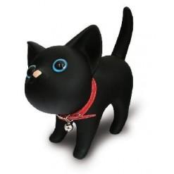 Кот - копилка черный