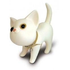 Кот - копилка белый
