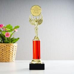 Наградная статуэтка *За успехи в воспитании детей и мужа*