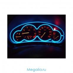 Неоновый шнур для подсветки салона авто 3 метра