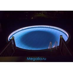 Подсветка бассейна 10 метров (16 цветов)