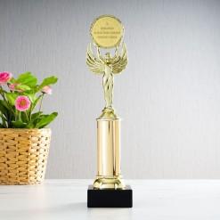 Награда *За проявленные на полях бизнес-сражений ...*