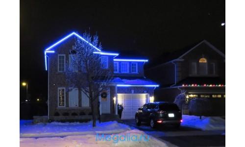 Подсветка для дома многоцветная