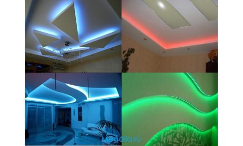 Готовый комплект подсветки потолка (многоцветный)