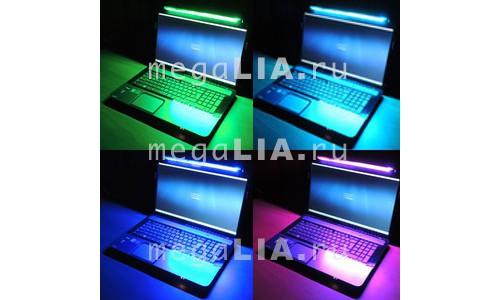Подсветка для ноутбука 16 цветов 30 см