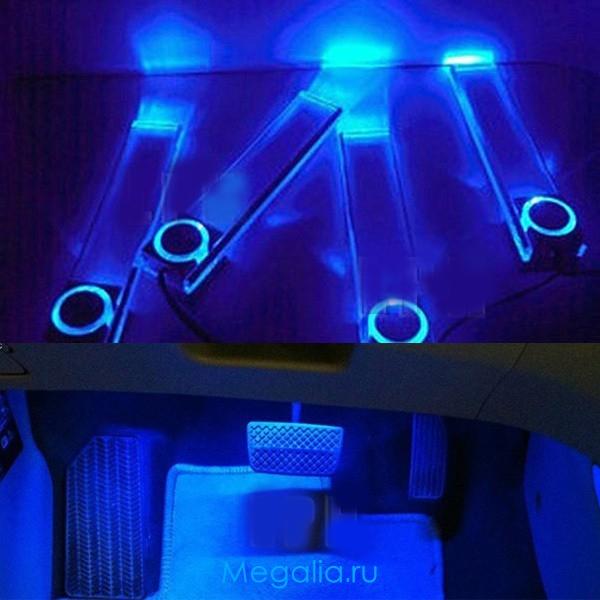 Как сделать подсветку из неонов в 216