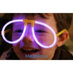 Светящиеся неоновые очки (10 шт)