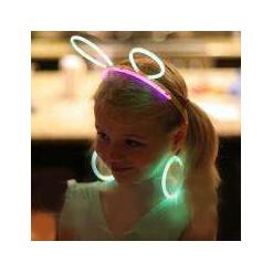 Светящиеся неоновые ушки (10 шт)