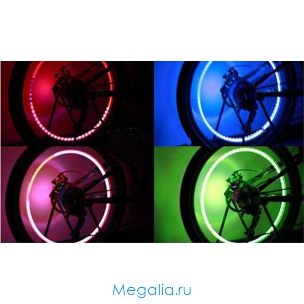 Подсветка для колес велосипеда, автомобиля, мотоцикла
